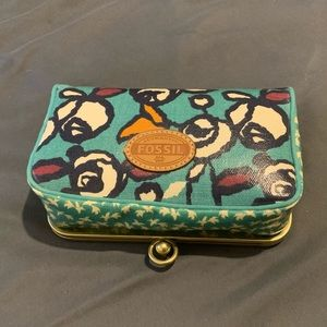 Fossil makeup bag new with tags